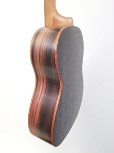 Ohana Baritone Ukulele Cedar and Ebony BK-50ME Side