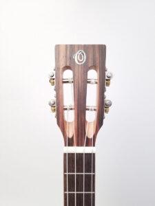 Ohana Baritone Ukulele Cedar and Ebony BK-50ME Headstock