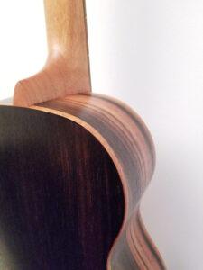 Ohana Baritone Ukulele Cedar and Ebony BK-50ME Binding