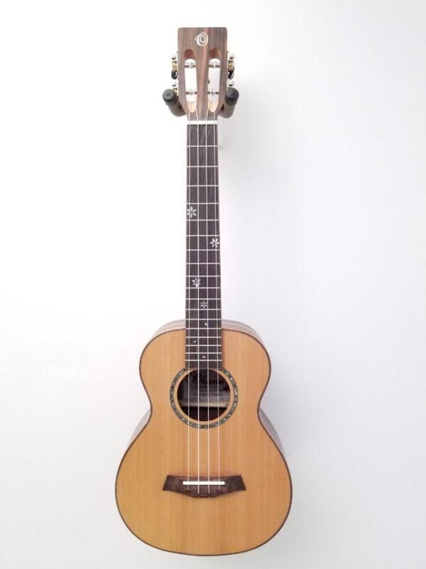 Ohana Tenor Ukulele Cedar and Ebony TK-50ME Front
