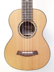 Ohana Tenor Ukulele Cedar and Ebony TK-50ME Top