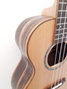 Ohana Tenor Ukulele Cedar and Ebony TK-50ME Soundhole