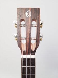 Ohana Tenor Ukulele Cedar and Ebony TK-50ME Headstock