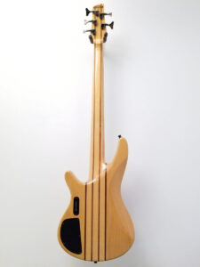 USED Ibanez SRX705 5-String Electric Bass Back View