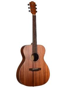 Teton Grand Concert Mahogany Top Acoustic Guitar STG103NT-OP Front View