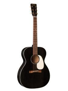 C.F. Martin 000-17 Black Smoke Acoustic Guitar Front View