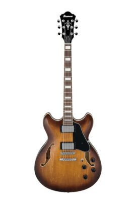 Ibanez AS73TBC Hollowbody Electric Guitar Front View