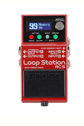 Boss RC-5 Loop Pedal Display