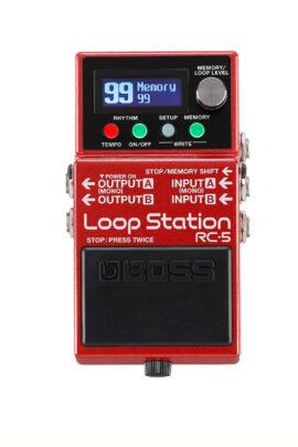 Boss RC-5 Loop Pedal Display