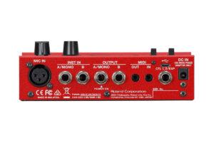 Boss RC-500 Loop Pedal Back Panel Inputs