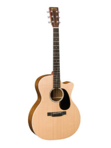 C.F. Martin Grand Performer Acoustic Guitar Front View - Affordable Martin