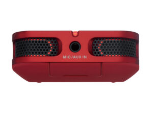 Roland Handheld Recorder R-07 Red Top View