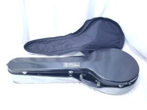 USED Calton Fiberglass Resonator Banjo Case with Open Cover