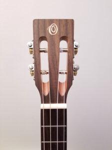 Ohana Baritone Uke BK-70R Headstock Front