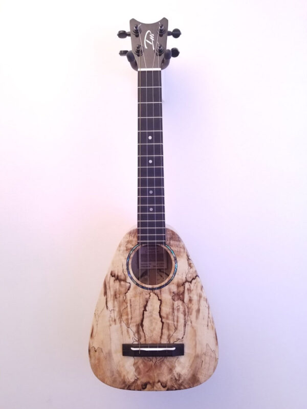 Romero Creations Tiny Tenor Spalted Mango S#20068 Full Front View
