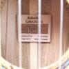 Romero Creations Tiny Tenor Uke - Spalted Maple Inside Label Made in Vietnam