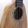 Romero Creations Tiny Tenor Uke - Spalted Maple Abalone Soundhole Rosette