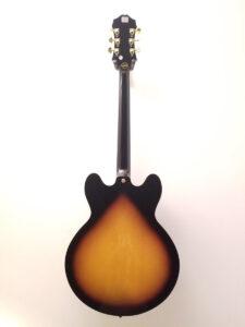 Used Epiphone Sheraton Pro II Electric Guitar Full Back View
