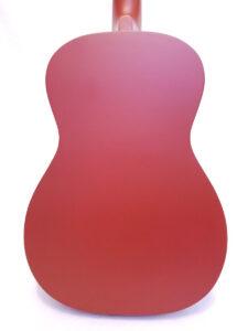 Used Gretsch Jim Dandy Acoustic Guitar Back View