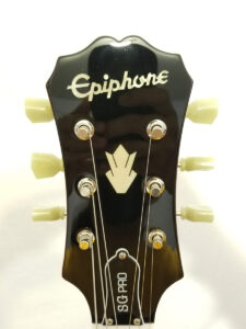 Used Epiphone SG Pro Electric Guitar - Transparent Cherry Red Headstock