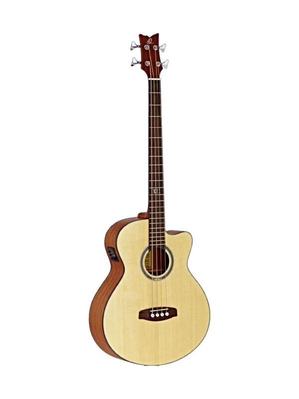 Ortega Acoustic 4-String Bass D538-4 Full Front View