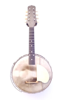 Vintage Gibson Trap Door Banjo Mandolin MB1 Full Front View