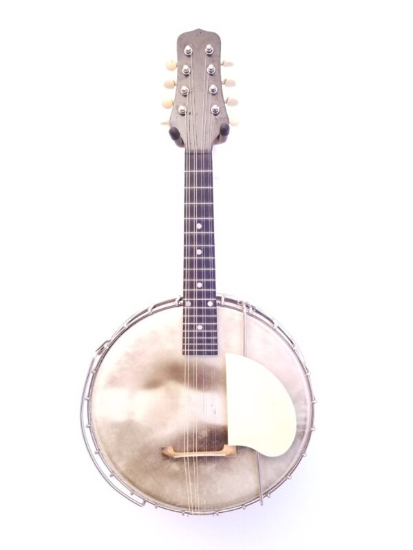 Vintage Gibson Trap Door Banjo Mandolin MB1 Full Front View