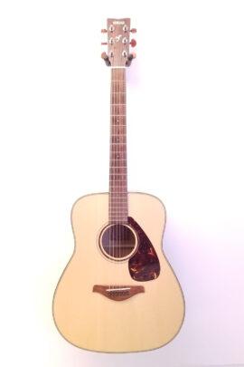 Yamaha FG-750S Dreadnought Guitar Full Front View