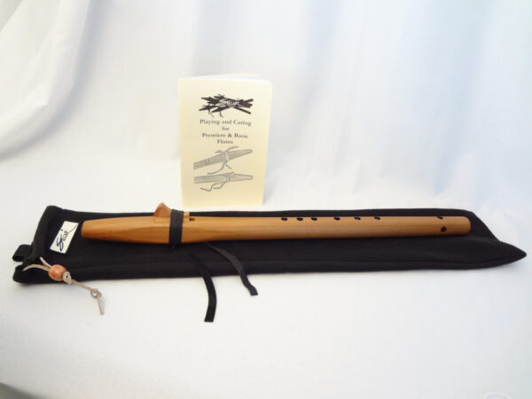 Stellar Basic Flute - Heartwood Cedar Key of F# with Bag