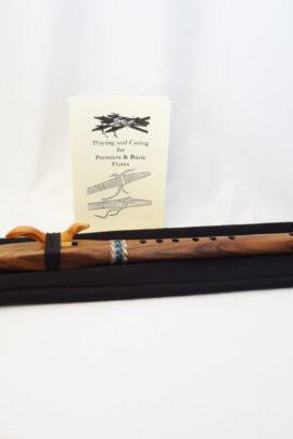 Stellar Premier Flute Walnut Key of A with Bag