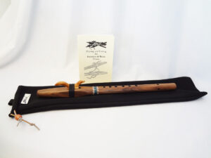 Stellar Premier Flute Walnut Key of A with Bag