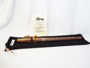 Stellar Premier Flute Walnut Key of F# With Bag