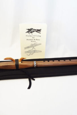 Stellar Premier Flute Walnut Key of G With Bag