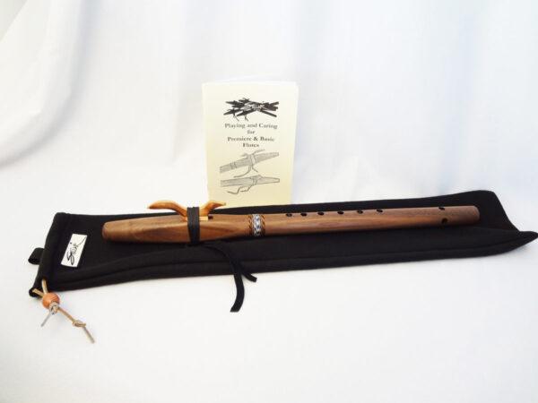 Stellar Premier Flute Walnut Key of G With Bag