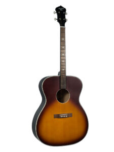 Recordking King Tenor Guitar ROST-7-TS Front View