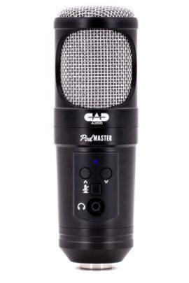 CAD USB PODMASTER SuperD Microphone Front View