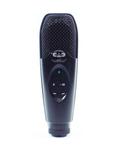 Large Diaphragm Cardiod Condenser Microphone Front View