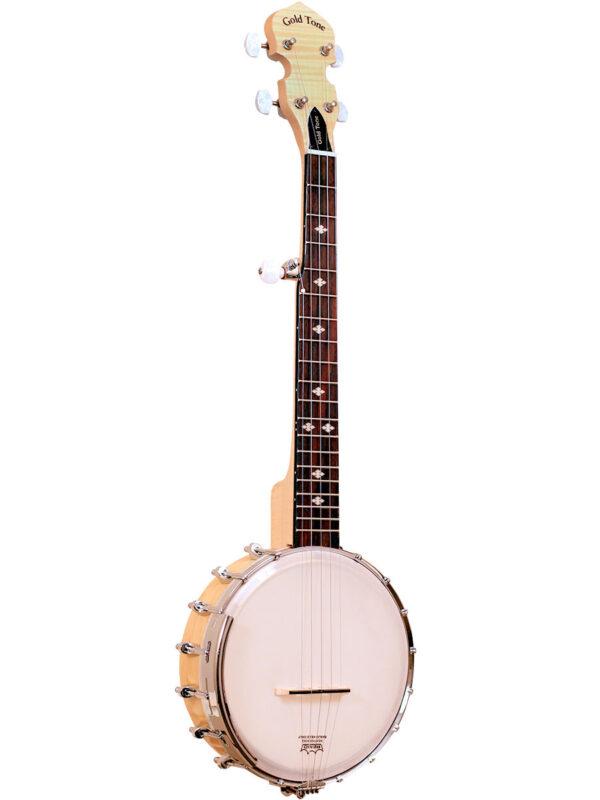 Goldtone CC-Mini Cripple Creek Mini Banjo Front View