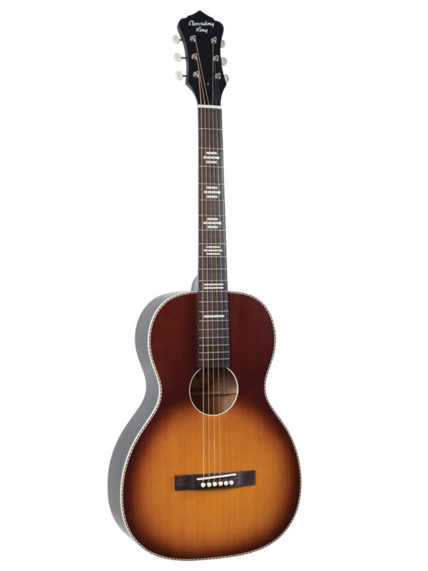 Recording King Parlor Guitar RPS-7-TS Front