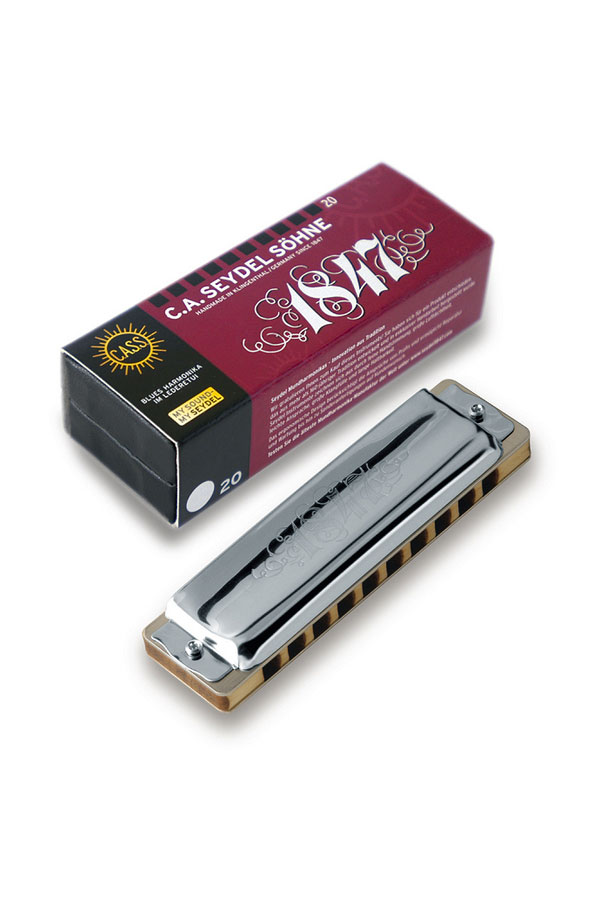 Seydel 1847 Classic 10-Hole Diatonic Harmonica