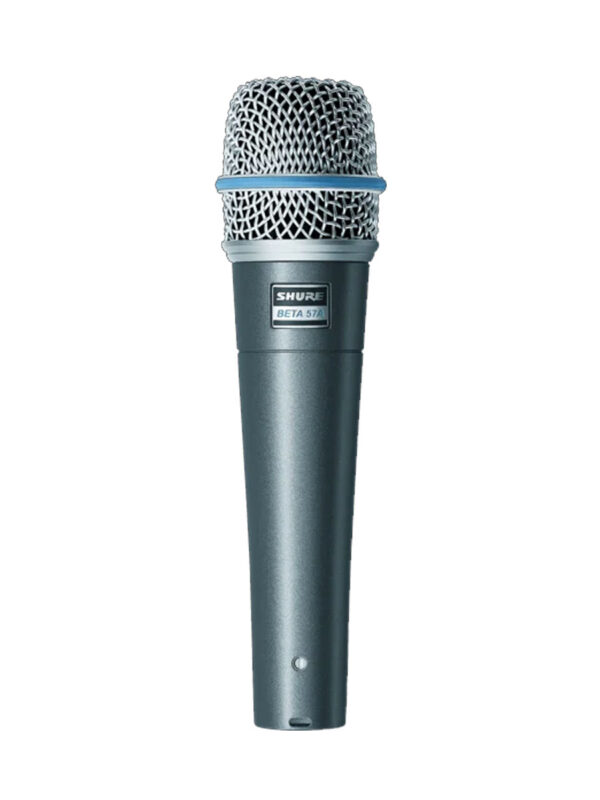 Shure BETA57A Dynamic Instrument Microphone Front View