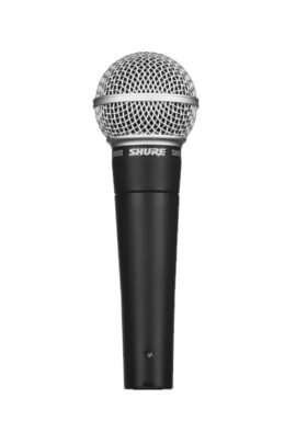 Shure SM58LC Dynamic Vocal Microphone with ON/OF Switch