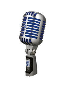 Shure SUPER55 Deluxe Vocal Microphone Main View