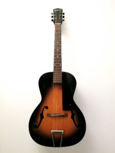 1930's Kalamazoo KG21 Archtop Guitar Full Front View