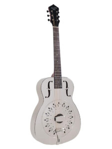 Recording King RM-998-D Nickel Style-0 Resonator Full Front View