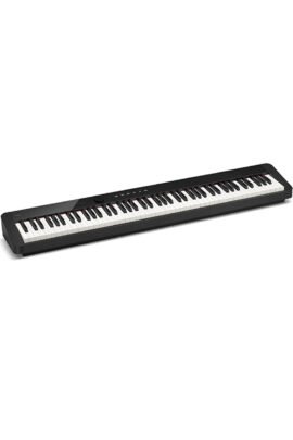 Casio Privia PX-S1100 88-Weighted Key Bluetooth Keyboard Top Panel When On